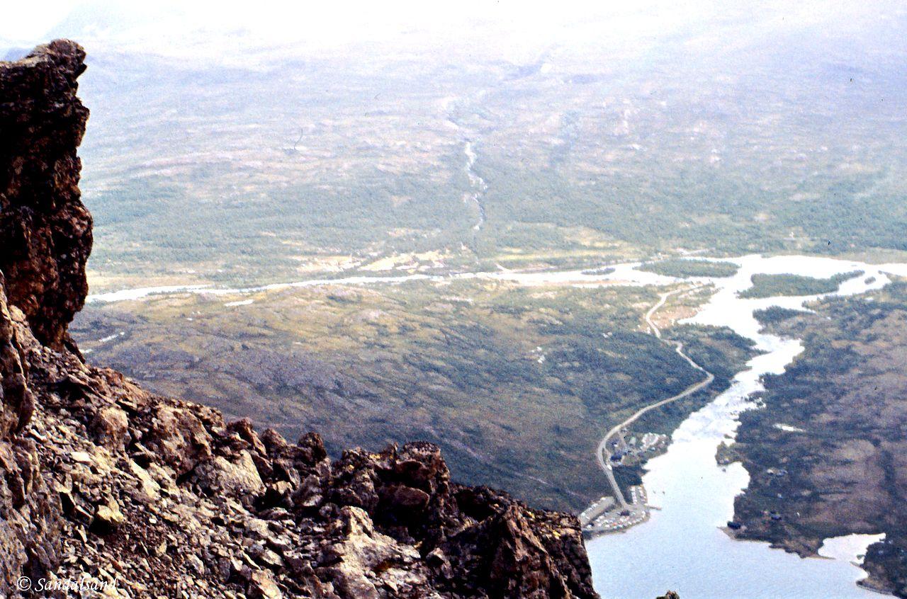 Oppland - Jotunheimen - Ville høyder over Gjendesheim og enden av Gjende