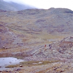 Norway - Jotunheimen - The trail, quite a few hikers