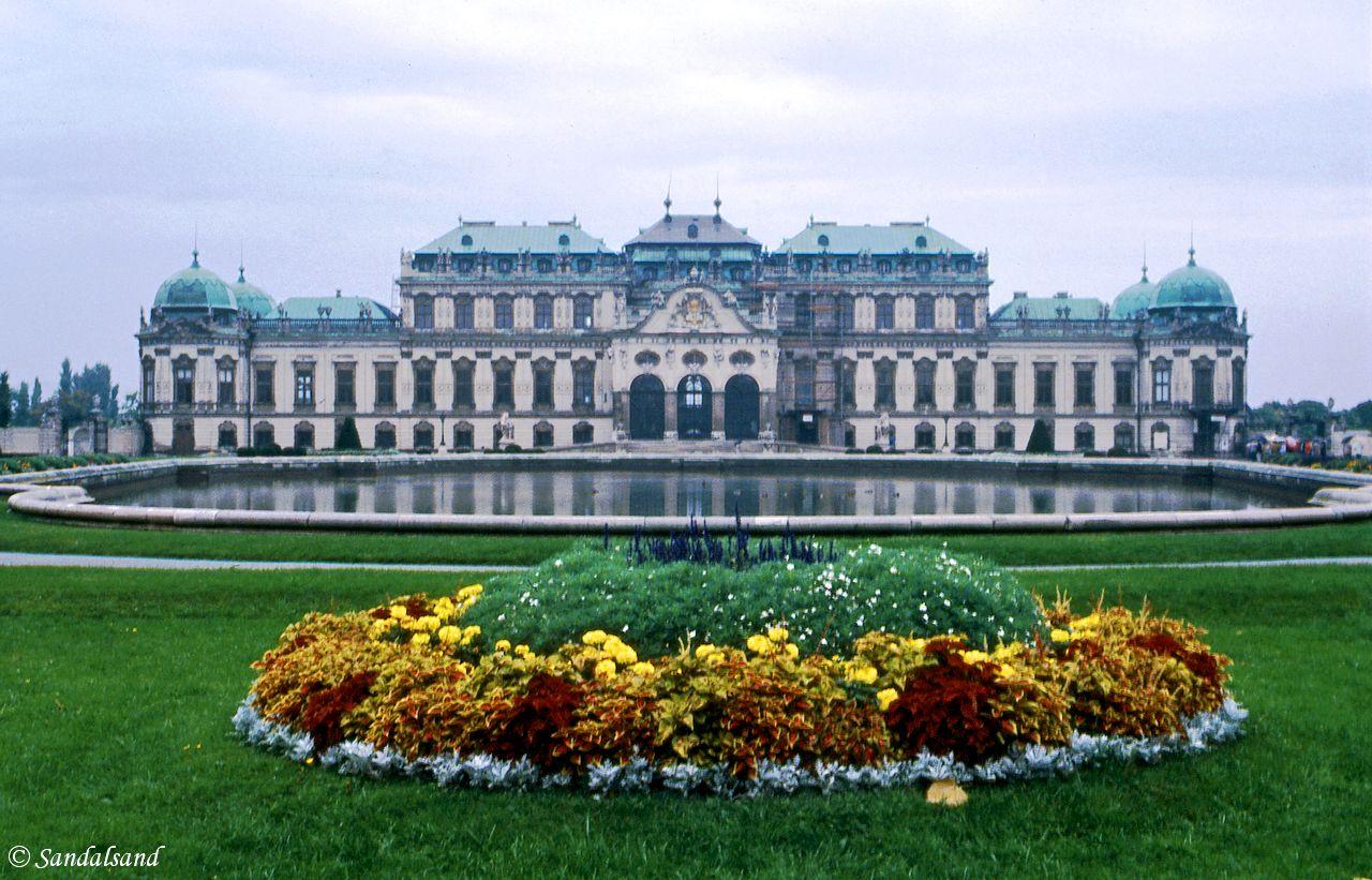 Austria - Wien (Vienna) - Belvedere Palace and garden