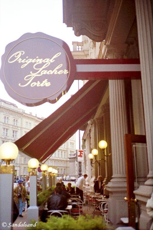Austria - Wien (Vienna) - Home of the Sacher torte chocolate cake