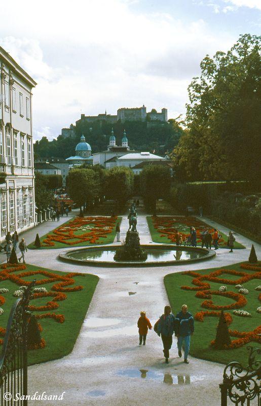 Austria - Salzburg - Palace of Mirabell