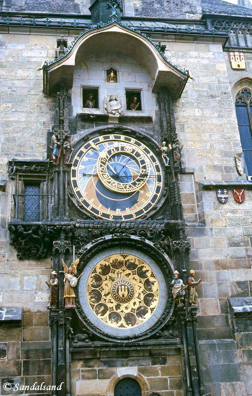 Czech Republic - Praha (Prague) - Praha (Prague) - Staromestske namesti - Old Town Hall and Astronomical Clock