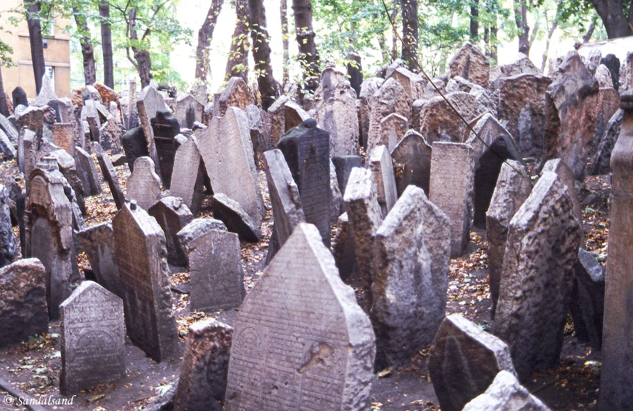 Czech Republic - Praha (Prague) - Jewish Cemetery