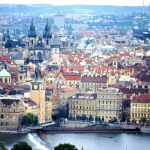 Czech Republic - Praha - Central city with the river in front