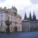Czech Republic - Praha (Prague) - Hradcany castle and church