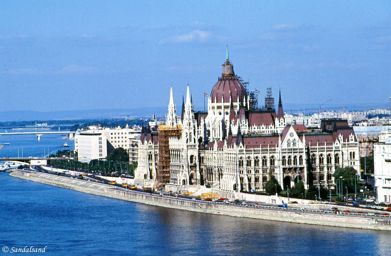 Hungary - Budapest - The Parliament across the Danube