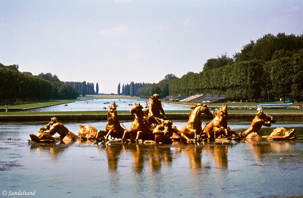 France - Versailles park view