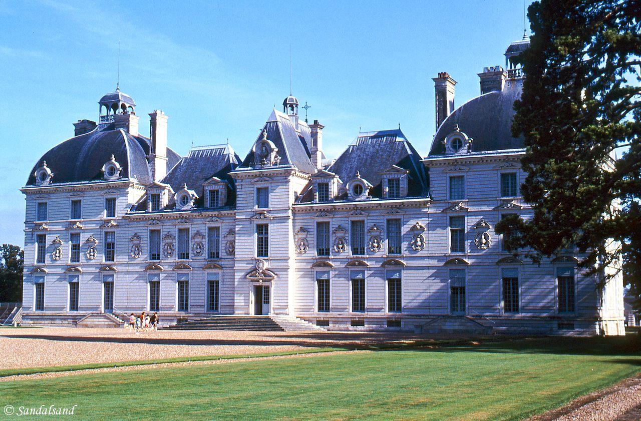 France - Loire - Chateau de Cheverny, exterior