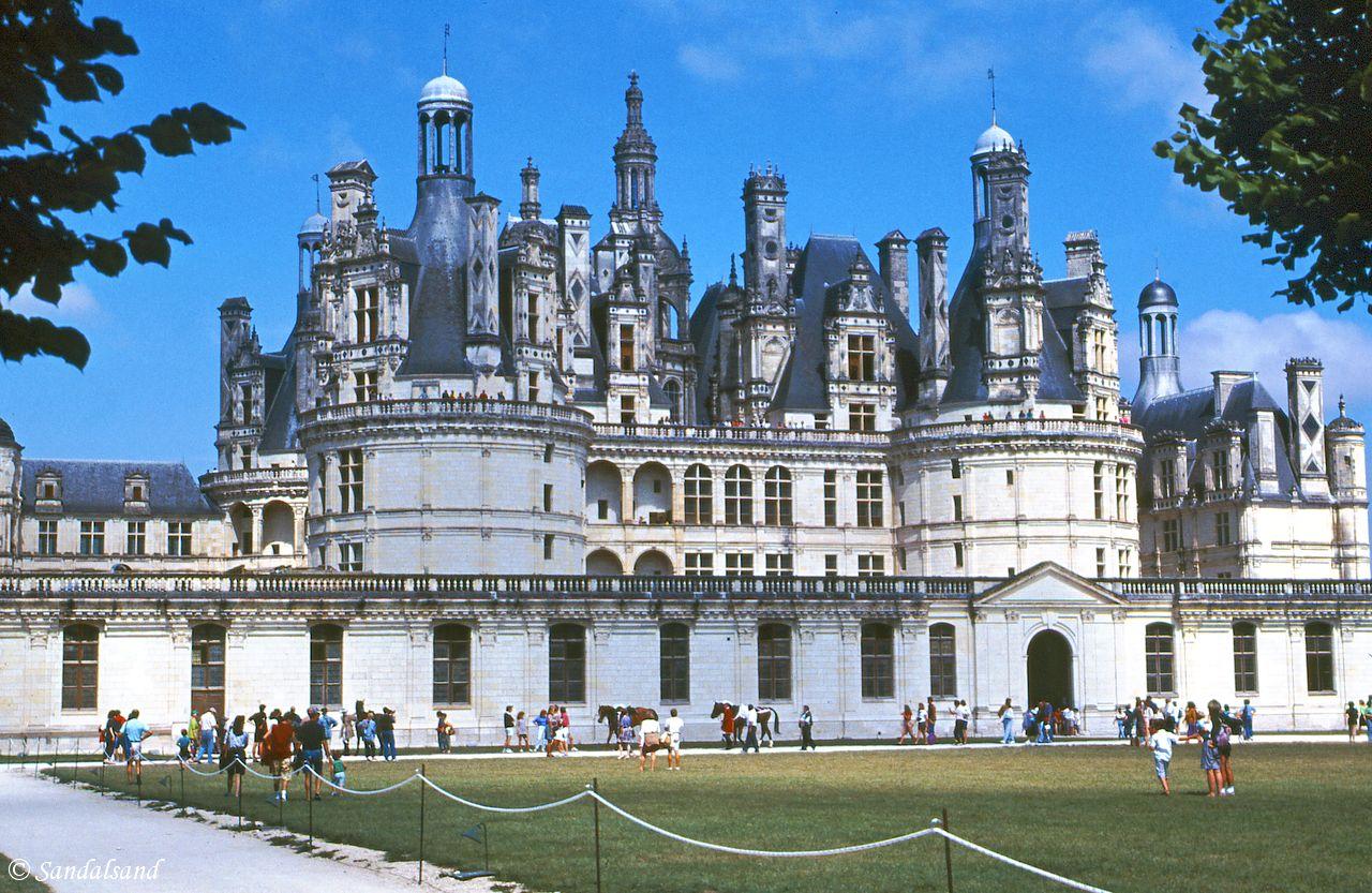 France - Loire - Chateau de Chambord, exterior