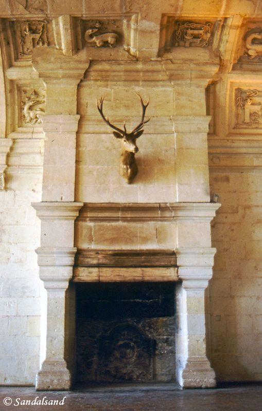 France - Loire - Chateau de Chambord, interior