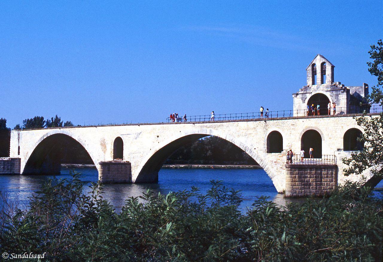 France - Provence - Avignon - Rhône River