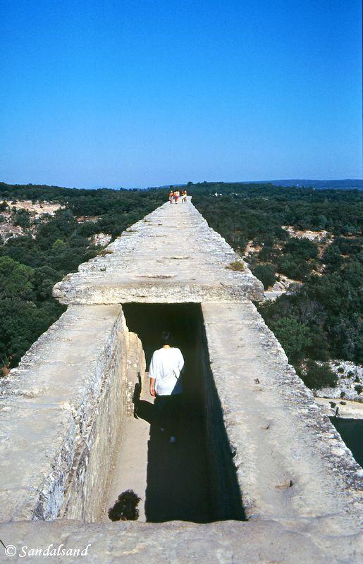 France - Provence - Pont-du-Gard - Gardon River
