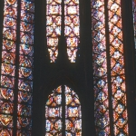 France - Paris - Stained-glass windows in the Sainte Chapelle