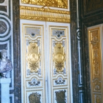France - Versailles door