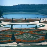 France - Versailles park view