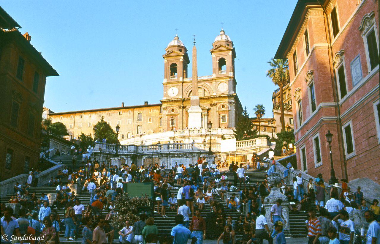 Italy - Roma - The Spanish Steps