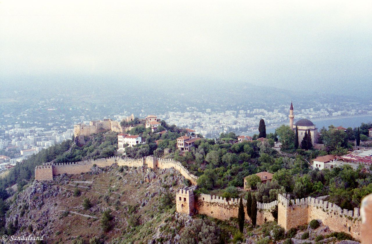 Turkey - Alanya - From the Alanya fortress on the cliff