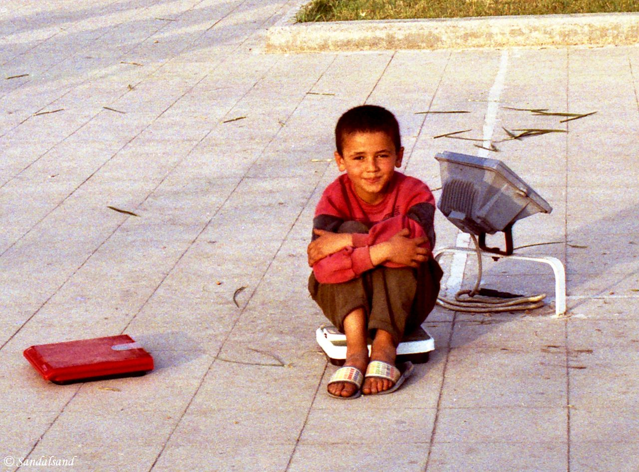 Turkey - Alanya - Weight for a penny