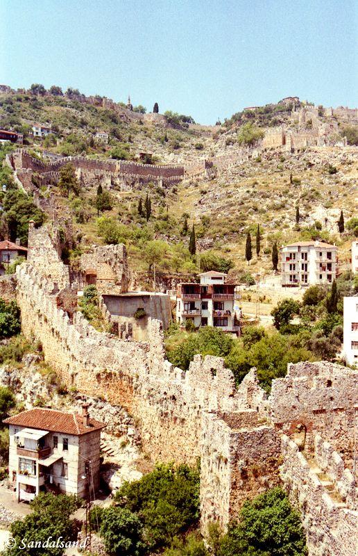 Turkey - Alanya - City wall