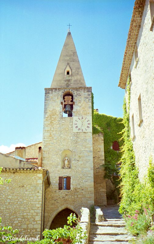 France - Provence - Crestet