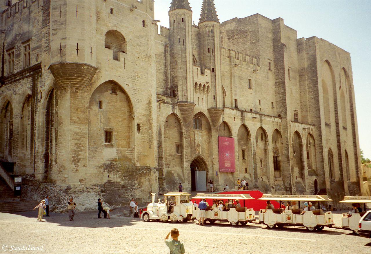 France - Provence - Avignon papal palace