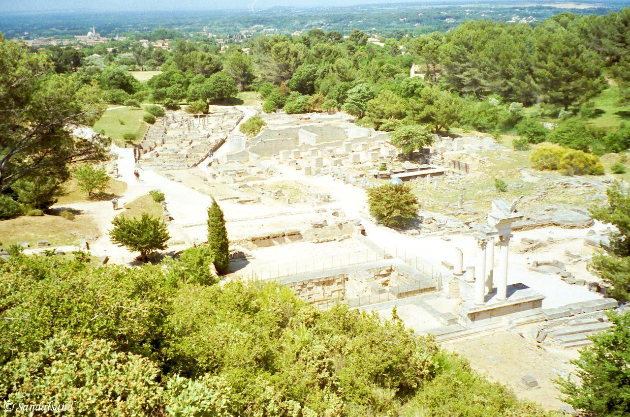 France - Provence - Glanum Roman ruins