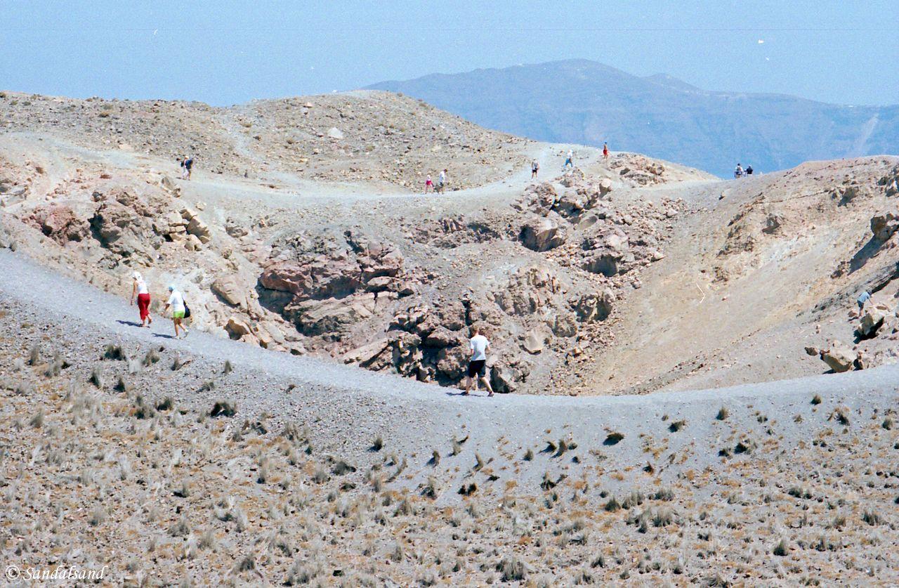 Greece - Cyclades - Santorini - Nea Kameni