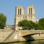 France - Paris - Cathedral of Notre-Dame seen from the Seine