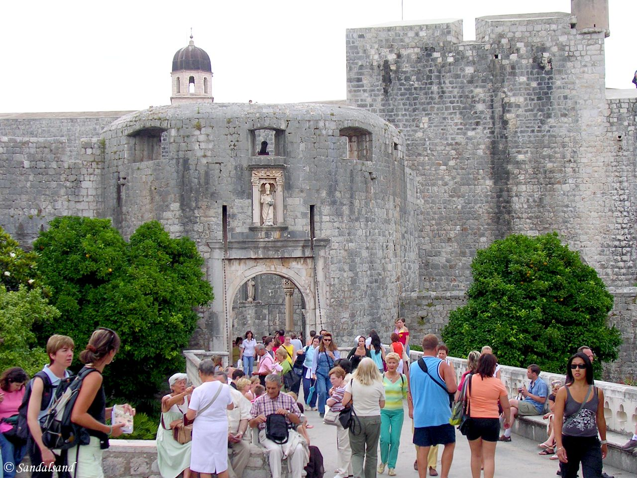 Croatia - Dubrovnik - Entrance to the Old Town