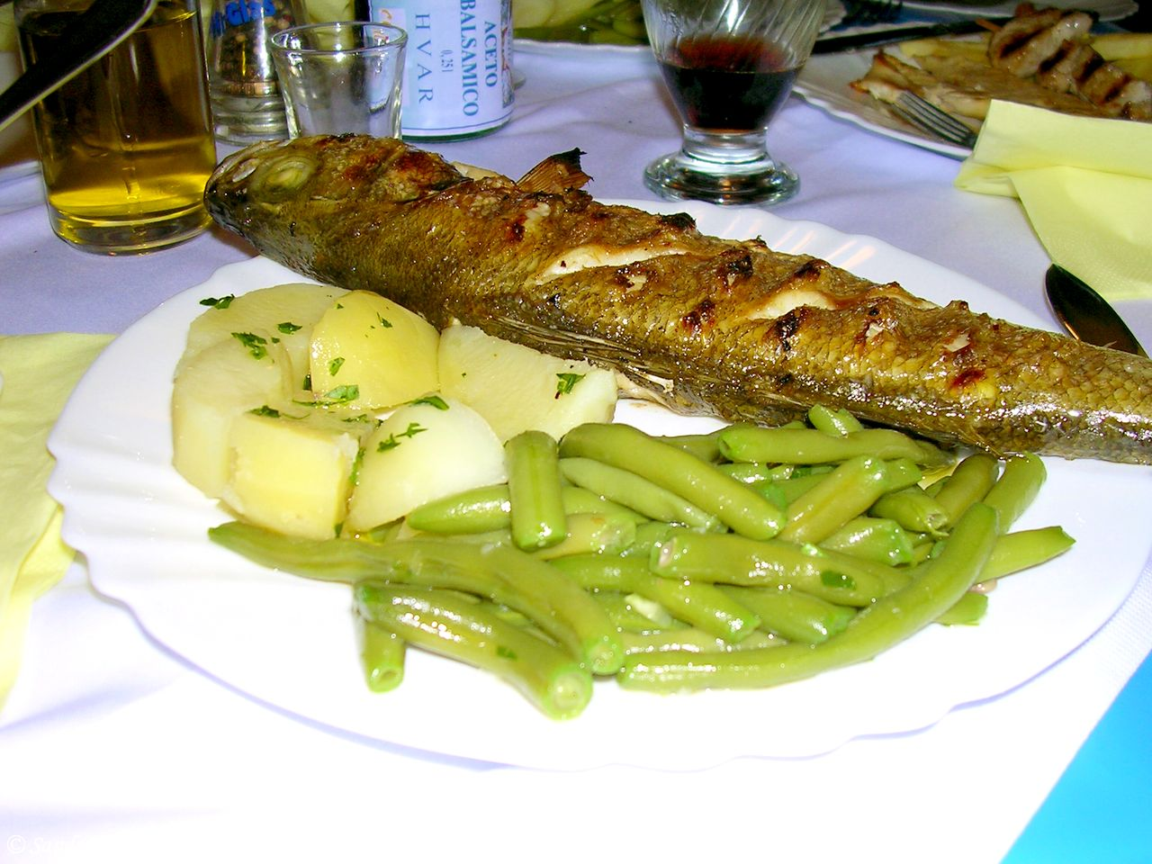 Croatia - Hvar seafood feast