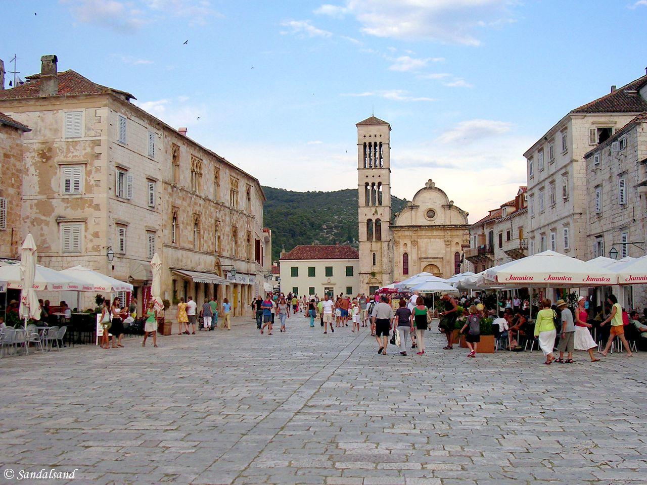 Croatia - Hvar City main square