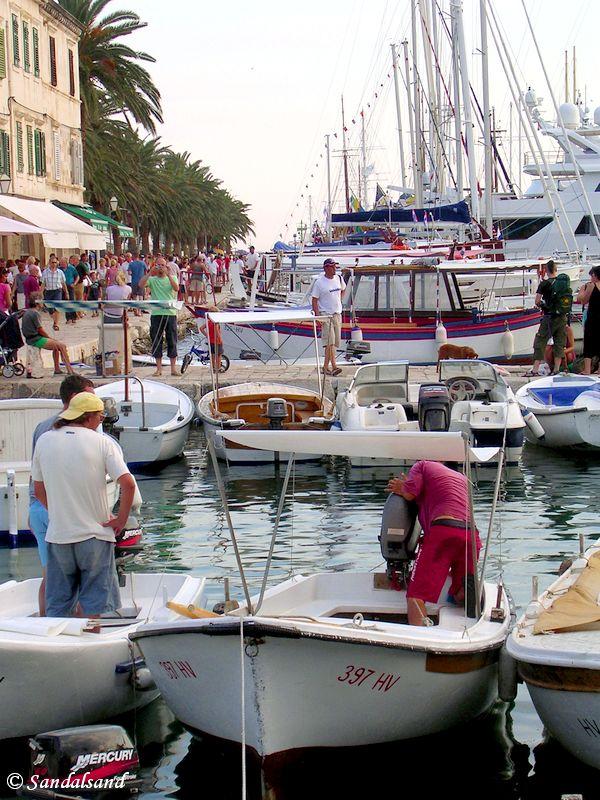 Croatia - Hvar City main port