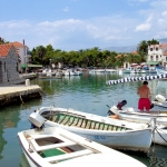 Croatia - Hvar - Sucuraj at the southern tip for a ferry to the mainland