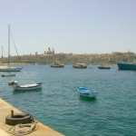Malta - View from Sliema towards Valletta