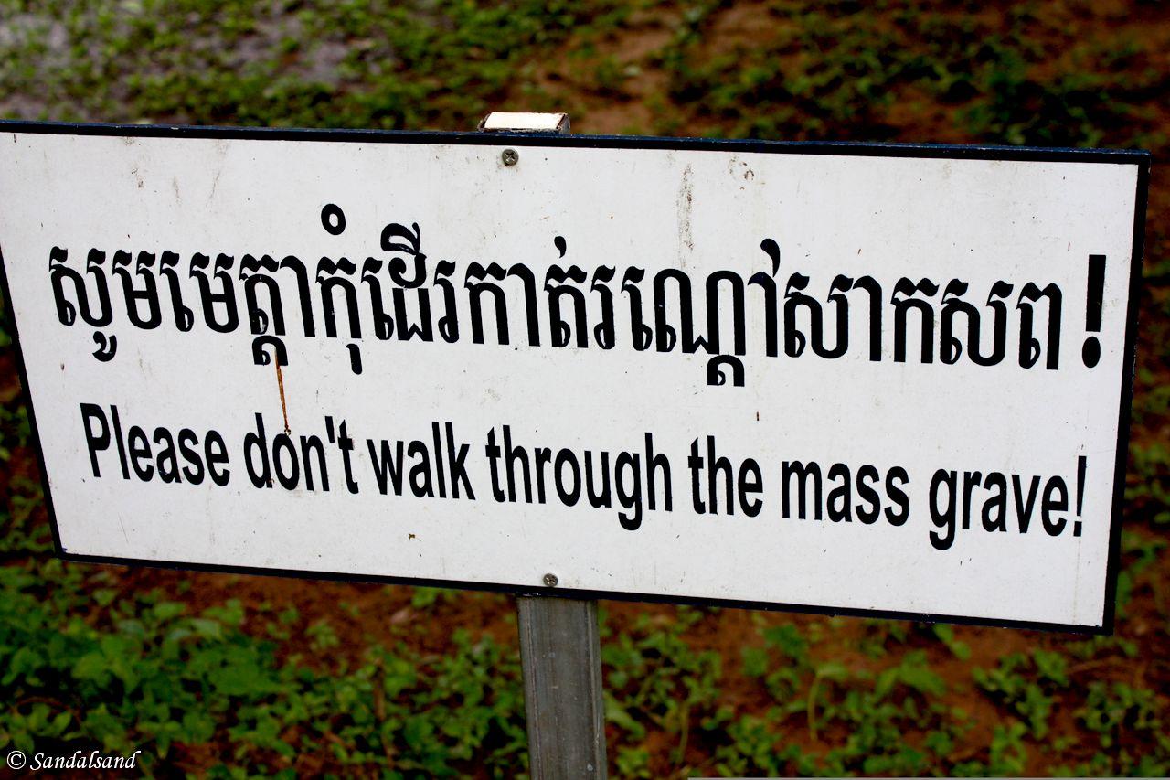 Cambodia - Phnom Penh - Choeung Ek - Killing Fields