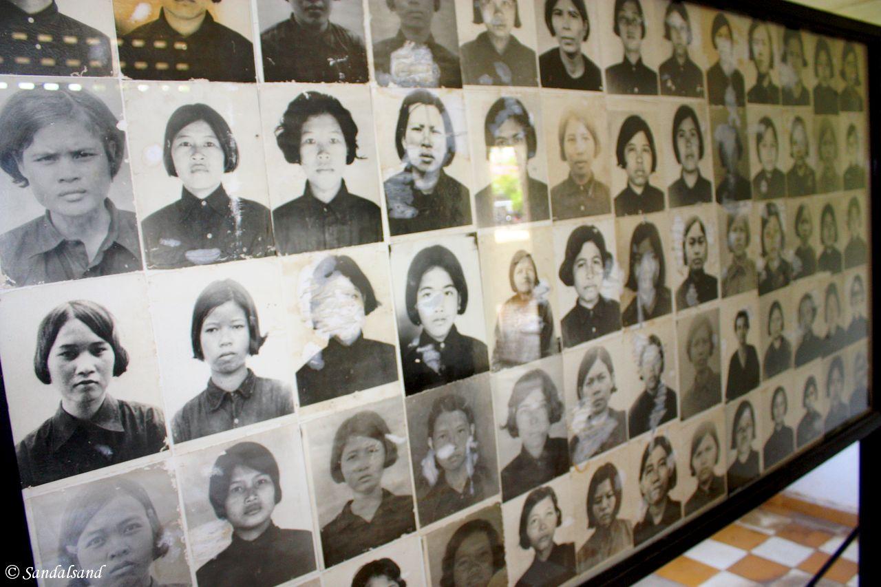 Cambodia - Phnom Penh - Tuol Sleng Museum, S-21