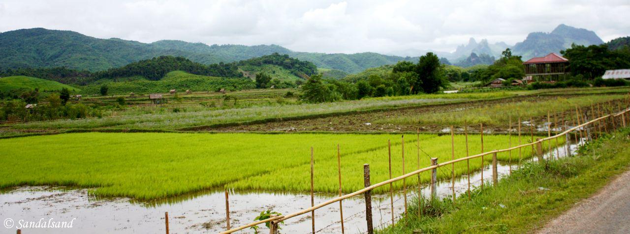 Laos - The road from Vang Vieng to Luang Prabang