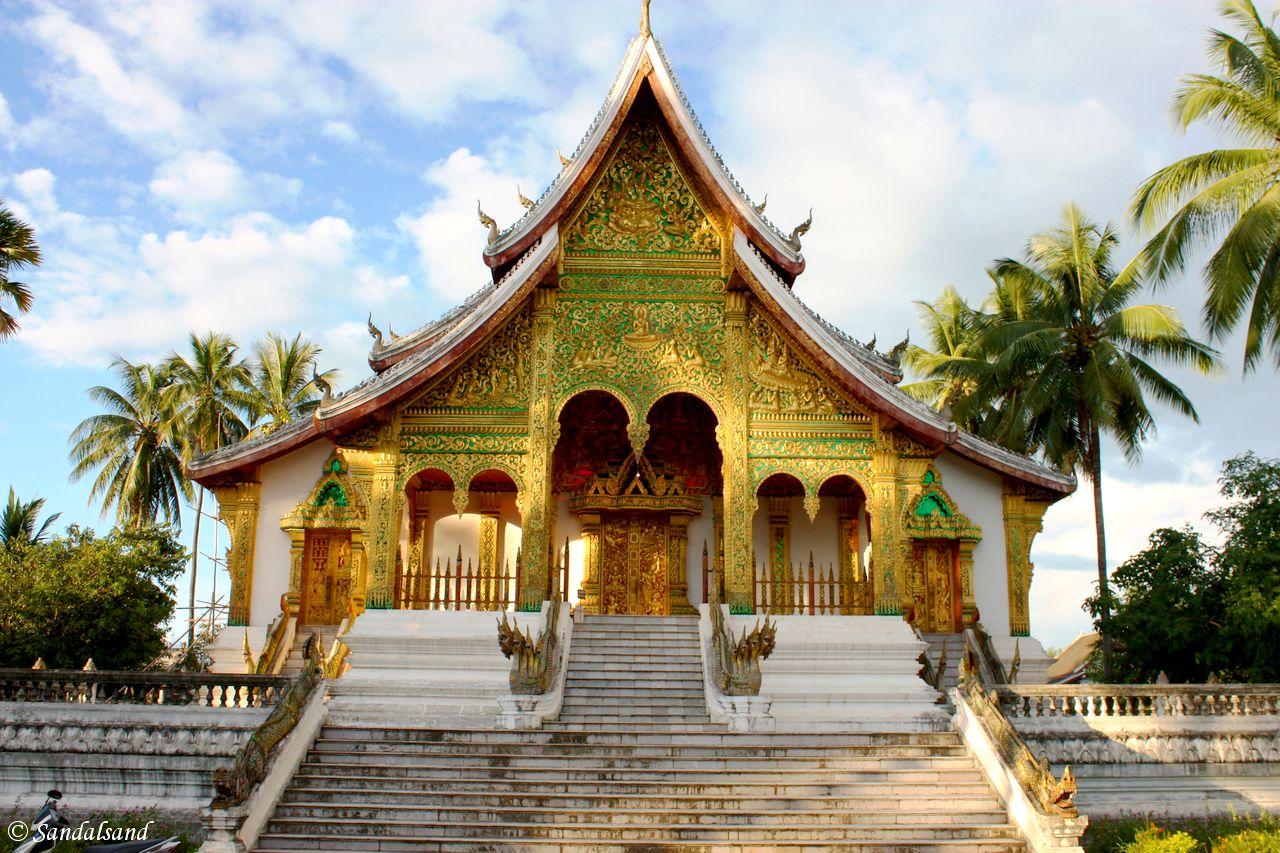 Laos - Luang Prabang - Wat Ho Pha Bang