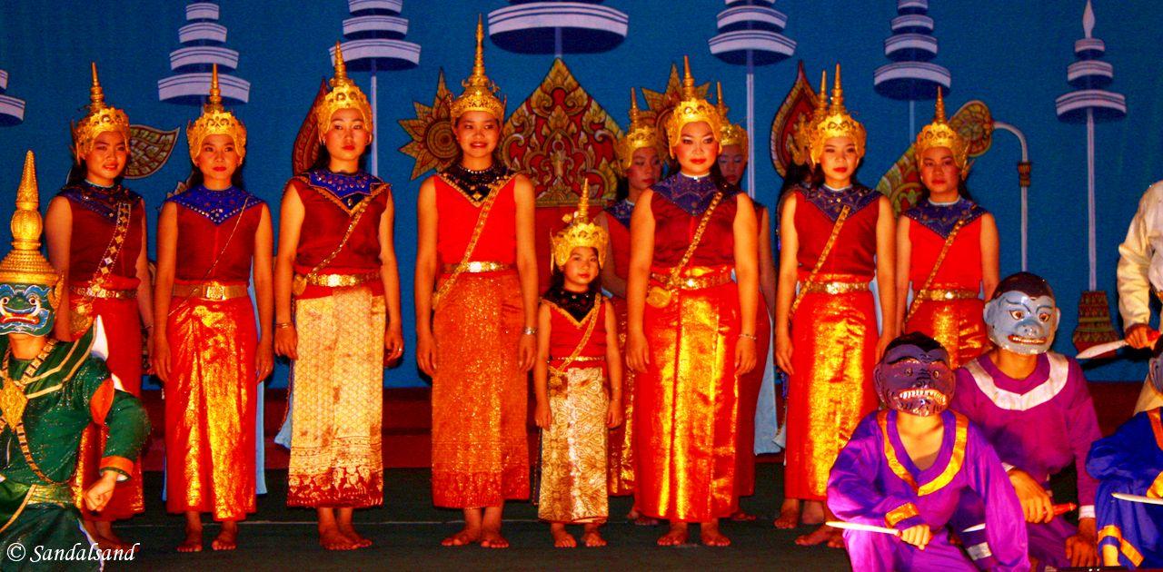 Laos - Luang Prabang - Royal Theatre