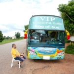 Laos - The road from Vientiane to Vang Vieng