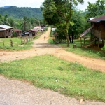Laos - The road from Vang Vieng to Luang Prabang