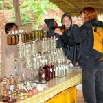 Laos - Luang Prabang - Mekong River - Whisky village