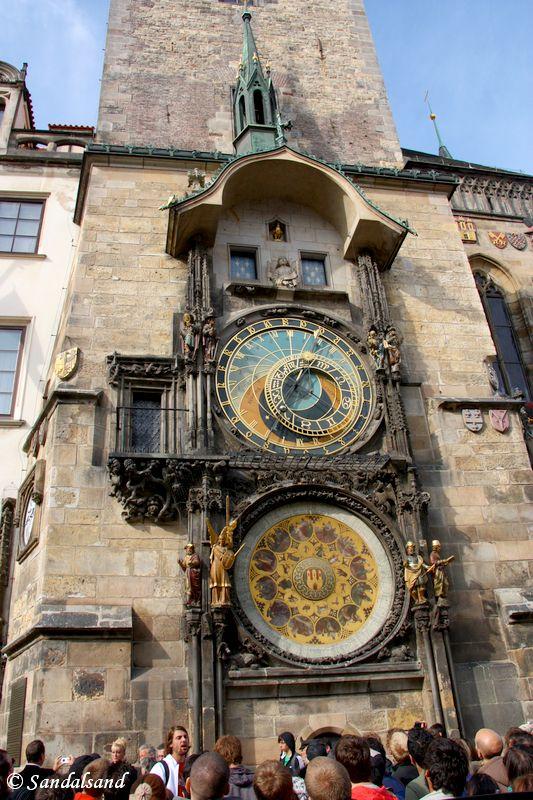 Czech Republic - Praha - Staromestske namesti - Town Hall clock and tower