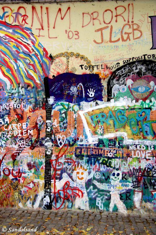 Czech Republic - Praha - Malá Strana - John Lennon Wall