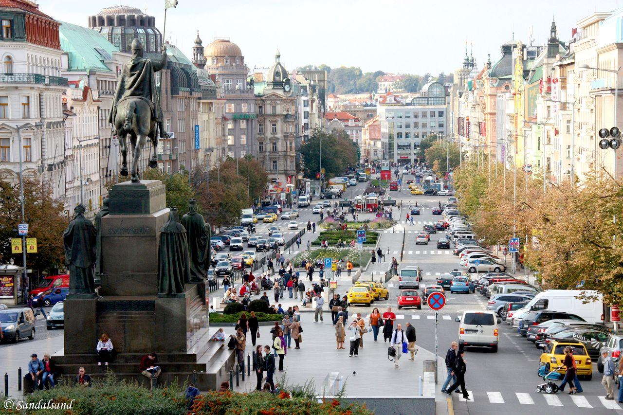 Czech Republic - Praha - Vaclavske Namesti
