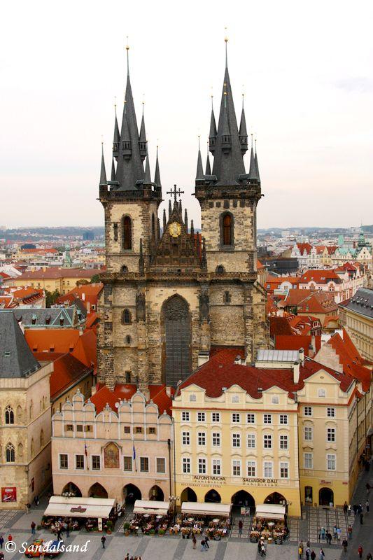 Czech Republic - Praha - Staromestske namesti - Church of Our Lady before Tyn