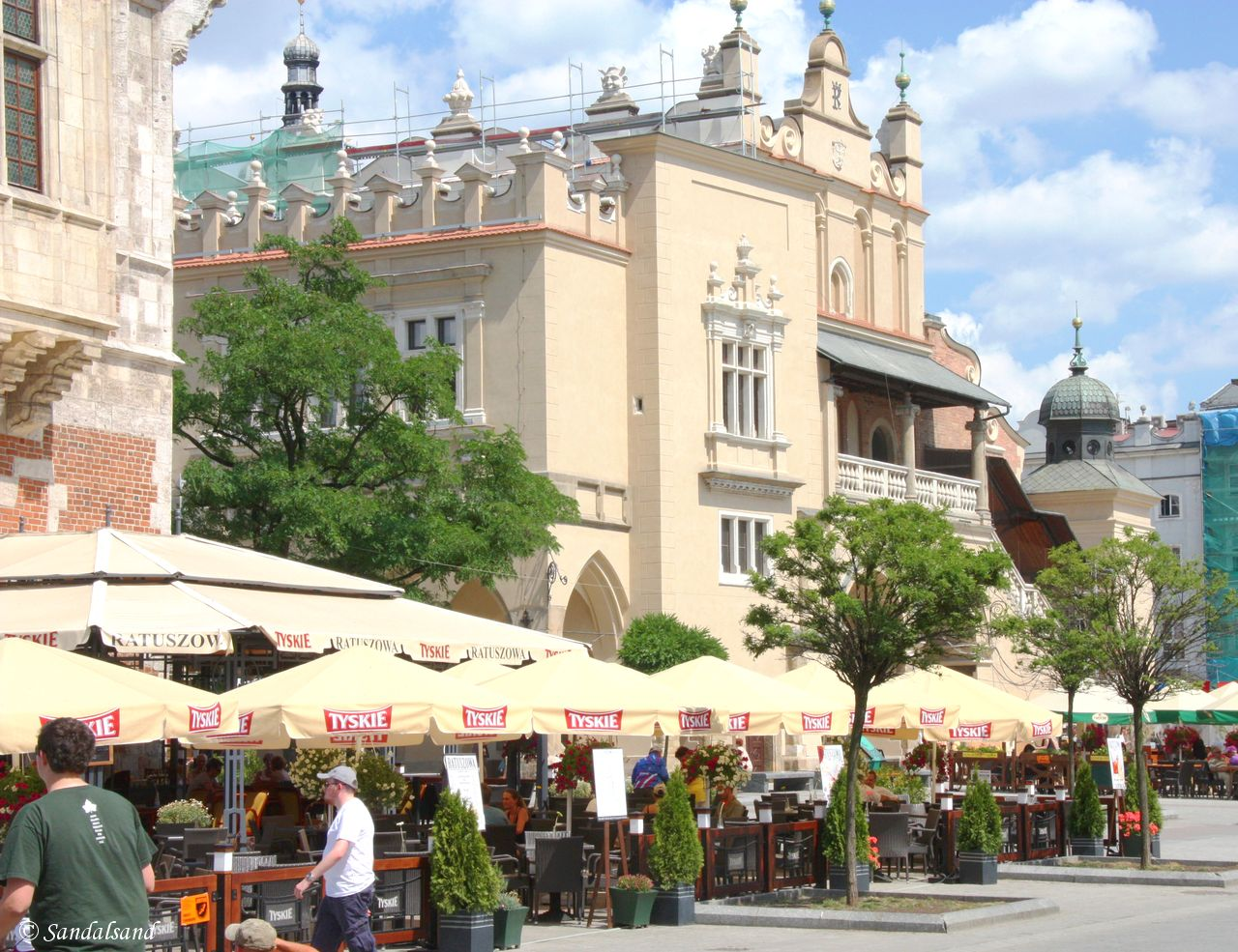 Poland - Krakow - Cloth Hall (Sukiennice) on the Rynek Square