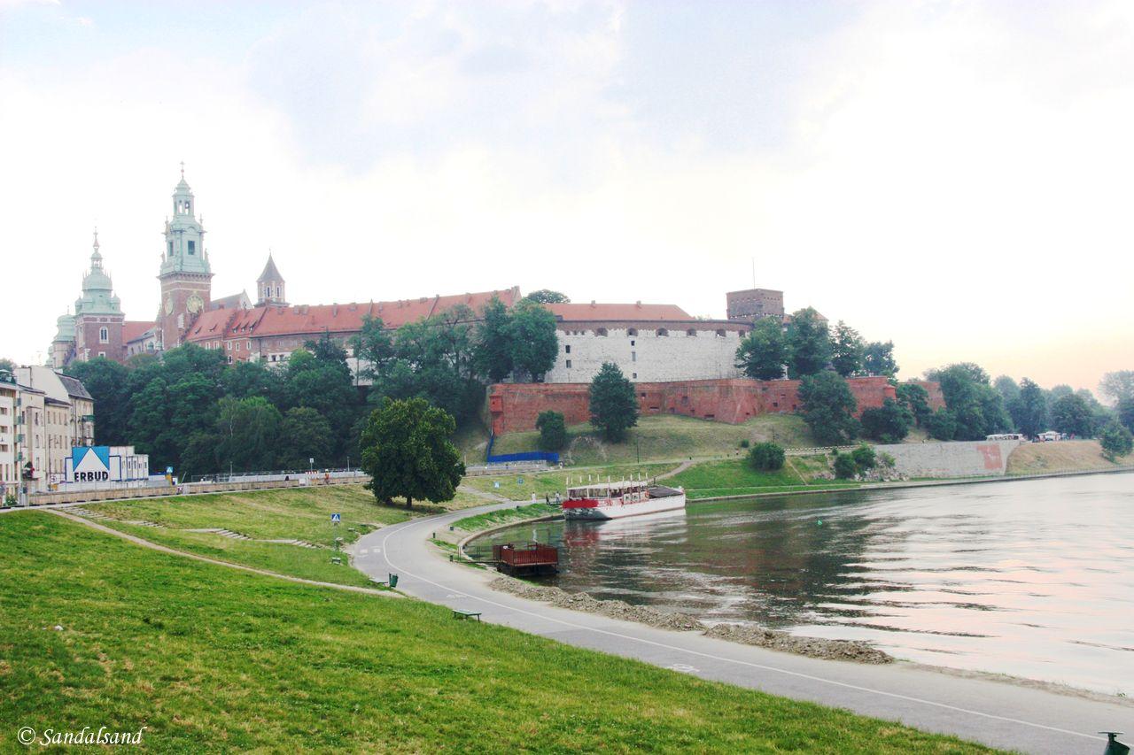 Poland - Krakow - Wawel Castle - Vistula River