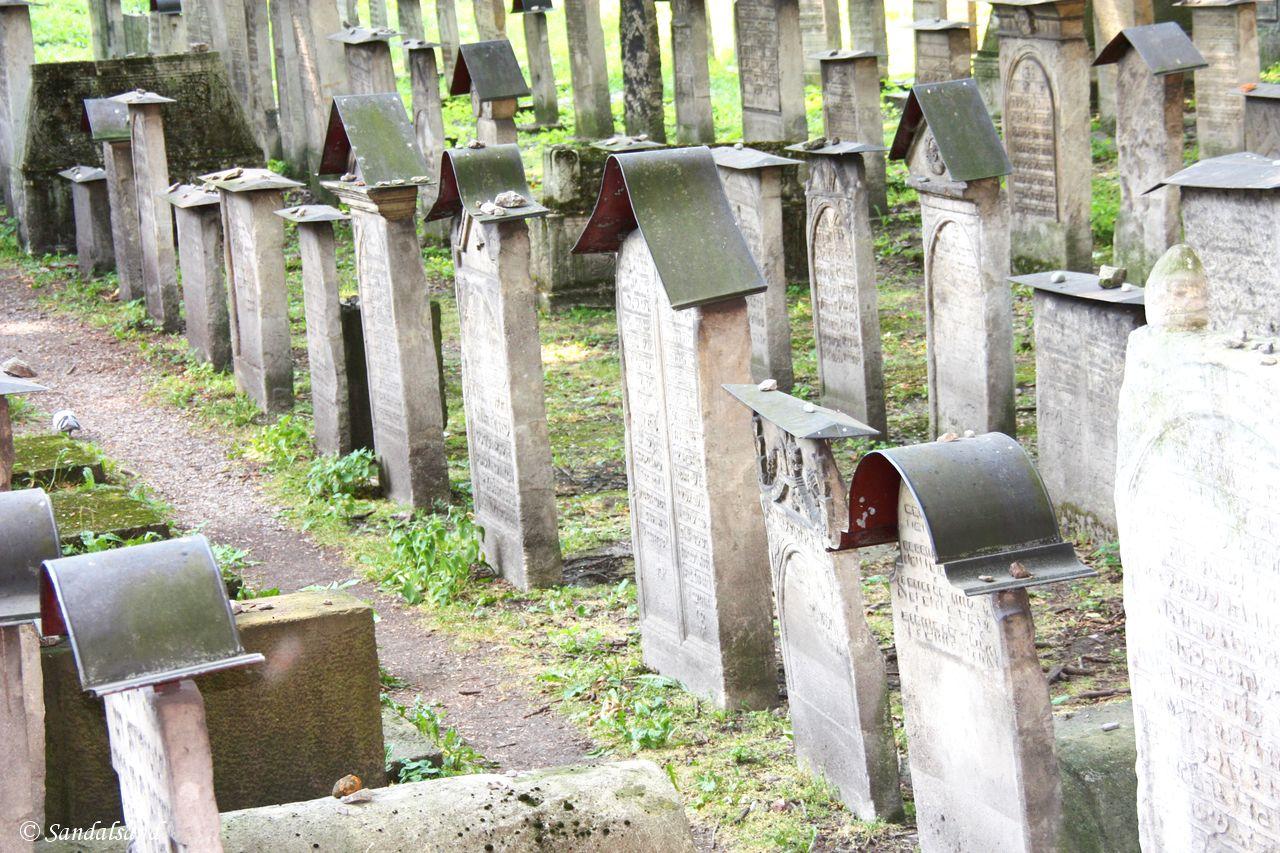Poland - Krakow - Kazimierz - Remuh Jewish Cemetery