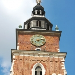 Poland - Krakow - Rynek Square - Town Hall Tower